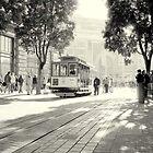 Trolley Car  by ALEX CENTRELLA