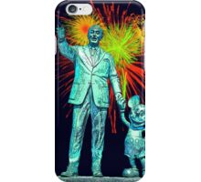 Walt and Mickey Statue Disneyland 60th Anniversary Fireworks iphone cases and skins iPhone Case/Skin
