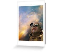 Art Gecko- Space Cadet Greeting Card