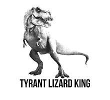Tyrant Lizard King Photographic Print