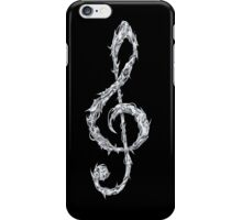 Metal Treble Clef iPhone Case/Skin
