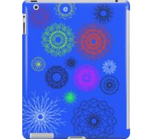 blue with different pattern iPad Case/Skin