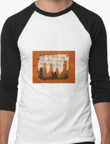 That First Day  Men's Baseball ¾ T-Shirt