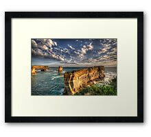 Grandeur - Razorback - Great Ocean Road - The HDR Experience Framed Print