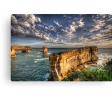 Grandeur - Razorback - Great Ocean Road - The HDR Experience Canvas Print