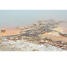 Geothermal pool Photographic Print