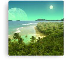 Pele's Paradise - Island in the Sun Canvas Print