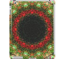 Strange abstract multicolored pattern iPad Case/Skin
