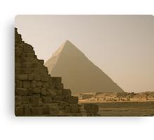 Pyramid of Khafre  Canvas Print