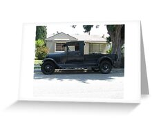 Old Ford Pickup Greeting Card