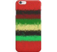 Colorful line pattern iPhone Case/Skin