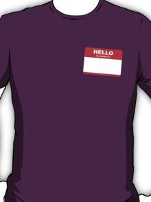 Hi, my name is ........ T-Shirt