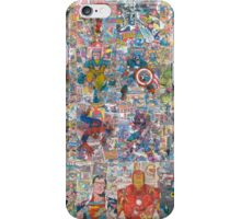 Vintage Comic Superheroes Galore (Limited Time) iPhone Case/Skin