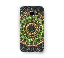Trendy colorful circle pattern Samsung Galaxy Case/Skin