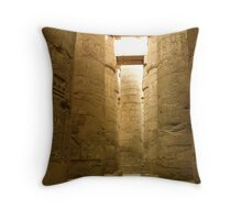 Great Hypostyle Hall at Karnak Throw Pillow