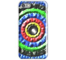 Colorful abstract Circle pattern iPhone Case/Skin