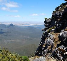 Vista from the summit of Toolbrunup Peak, Stirling Ranges WA by chobephotos