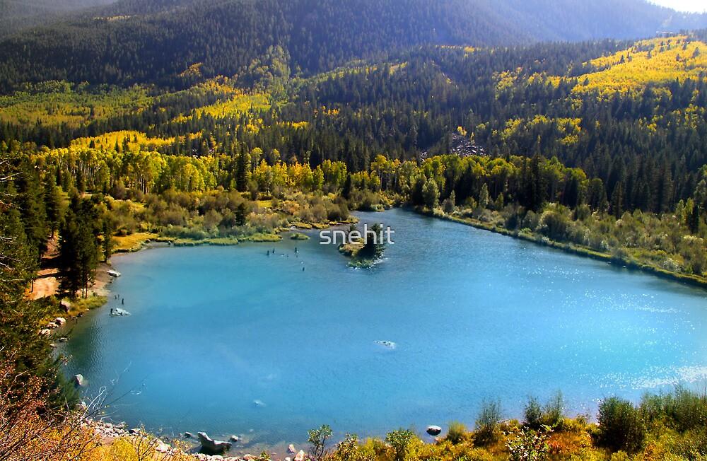 Mountain Lake by snehit