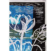 Lotus Print 2 Photographic Print