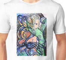 Abstract Mermaid #1 Unisex T-Shirt