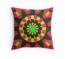 Modern trendy cool pattern Throw Pillow
