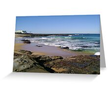 View To The Ocean Baths Greeting Card
