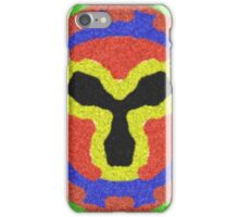 Modern colorful abstract pattern iPhone Case/Skin