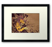 Spirit Happy Fox Framed Print