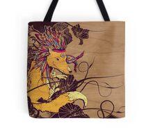 Spirit Happy Fox Tote Bag