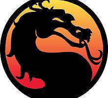 mortal kombat logo by steve bruke