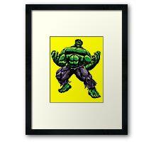 Hulk - Avengers Framed Print