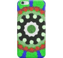 Colorful kaleidoscope trendy pattern iPhone Case/Skin