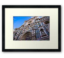 Duomo Facade - Florence, Italy Framed Print