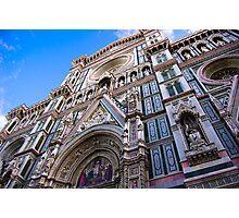 Duomo Facade - Florence, Italy Photographic Print