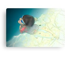 back to the surface Canvas Print