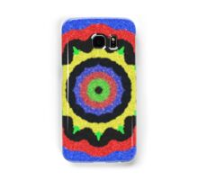 Colorful kaleidoscope cool pattern Samsung Galaxy Case/Skin