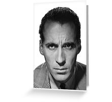 RIP CHRISTOPHER LEE Greeting Card