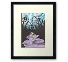 Alice on the Run Framed Print