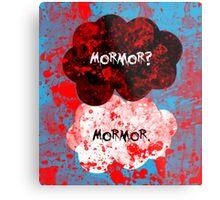 Mormor? Mormor. Sebastian Moran&Jim Moriarty Metal Print