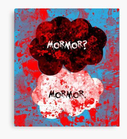 Mormor? Mormor. Sebastian Moran&Jim Moriarty Canvas Print