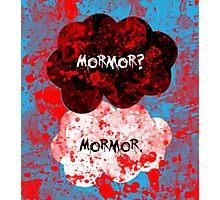 Mormor? Mormor. Sebastian Moran&Jim Moriarty Photographic Print