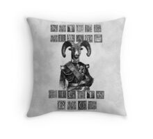 Nature Always Fights Back Throw Pillow