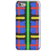Colorful abstract pattern lines iPhone Case/Skin