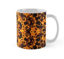 Golden Hell Fleur in the Dark Mug