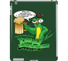 Tommy the Inulsting Parrot - Blarney iPad Case/Skin