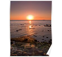 Elwood sunset Poster