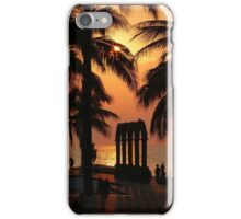 pictures of a sunset I - imagenes de una puesta del sol iPhone Case/Skin