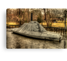 Plymouth, North Carolina - Civil War Ironclad - CSS Albemarle Canvas Print