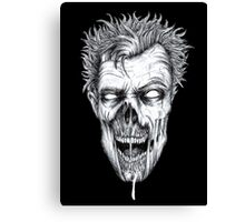 Zombie Head Canvas Print