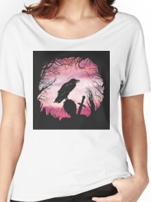 The Raven  Women's Relaxed Fit T-Shirt